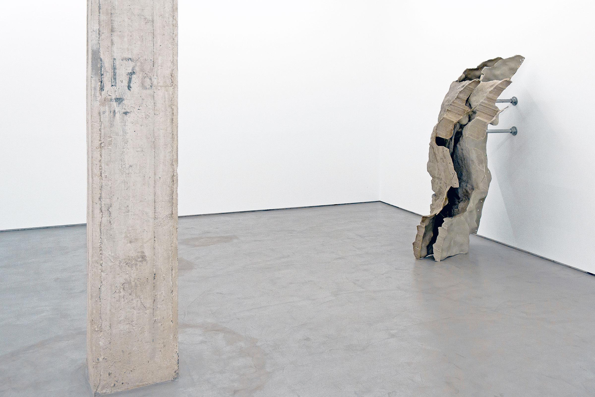 Skins (detail) Gallery Moises Pérez de Allbéniz, Madrid